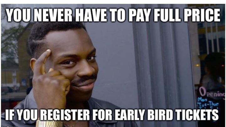 EARLY BIRD TILL MAY 20  Go to swqcc.org.au