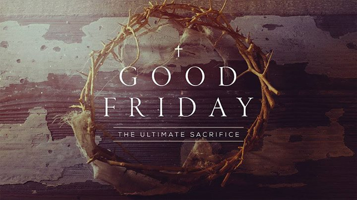 Here's the Bible Talk from Good Friday in case you missed it…