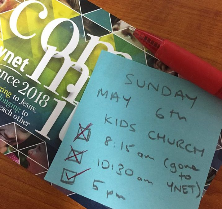 Kids church is only on at 5pm church this Sunday (May 6).  No Kids Church at 8:1…