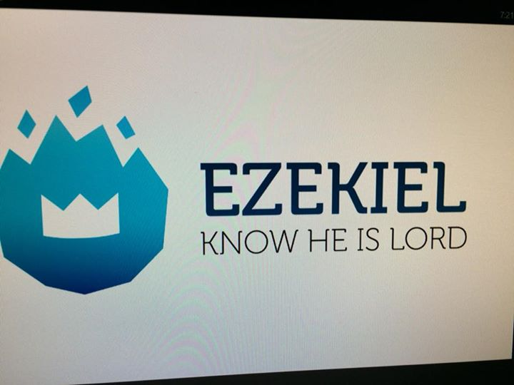 Home Group Leader Training Night. Looking forward to studying Ezekiel this term.