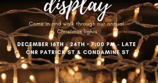 Dalby Presbyterian Church Annual Christmas Lights Display