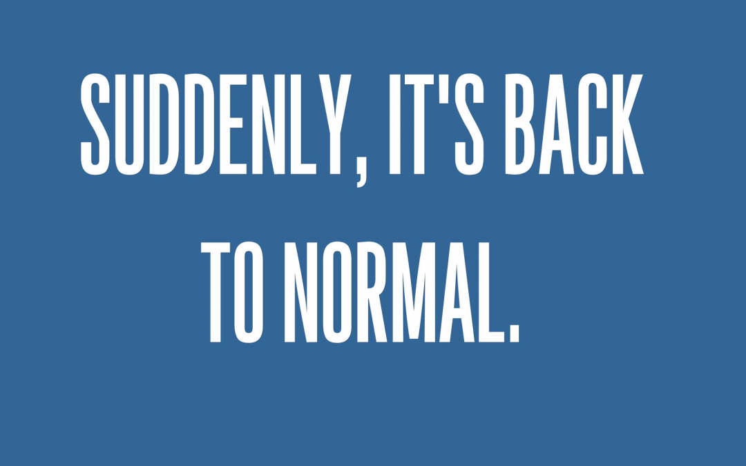 Our congregations are back to normal times this Sunday.  We're gathering at   81…