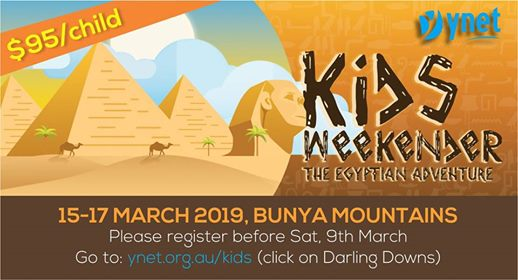 There is ONLY 15 more sleeps till Kids Weekender Camp! Jump on to register TODAY…