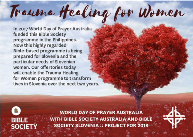 The World Day of Prayer is on tomorrow night (Friday) 7pm at the Anglican Church…