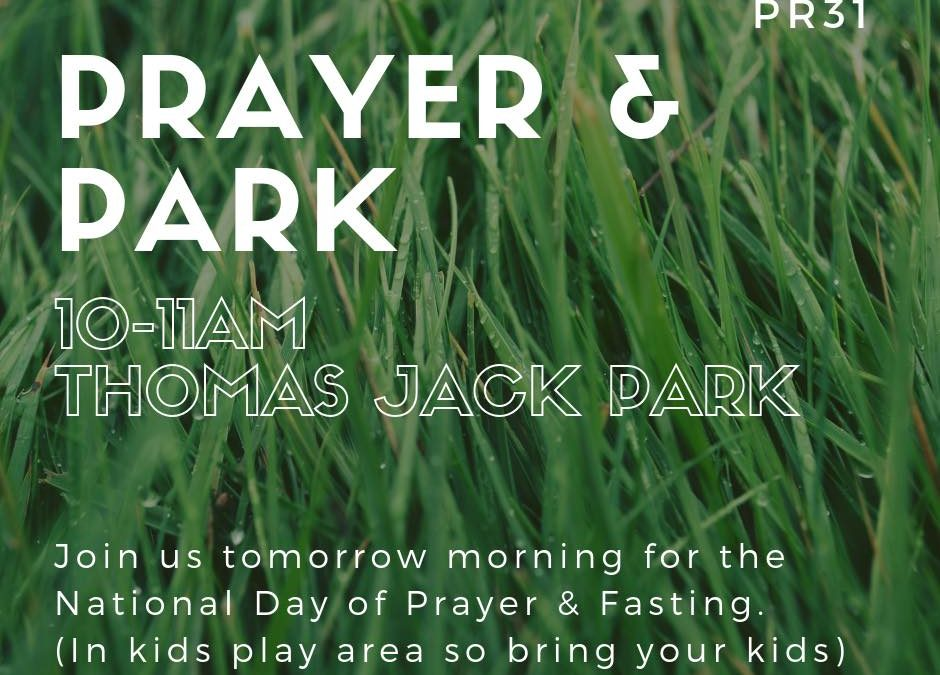 It's the National Day of Prayer & Fasting tomorrow from 10am – 4am. If you w…