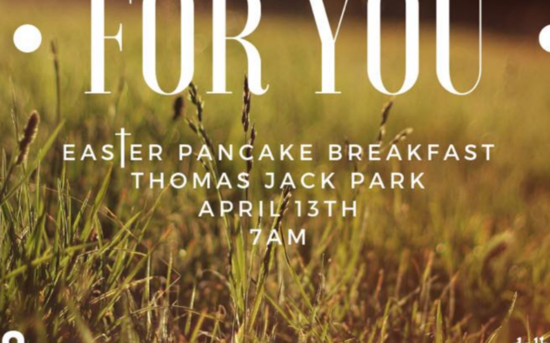 Our Free Easter Pancake Breakfast is just over a week away! Invite your friends,…