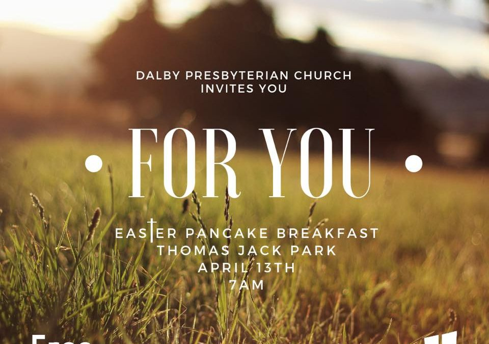 Our Free Easter Pancake Breakfast is only a few days away! Invite your friends, …