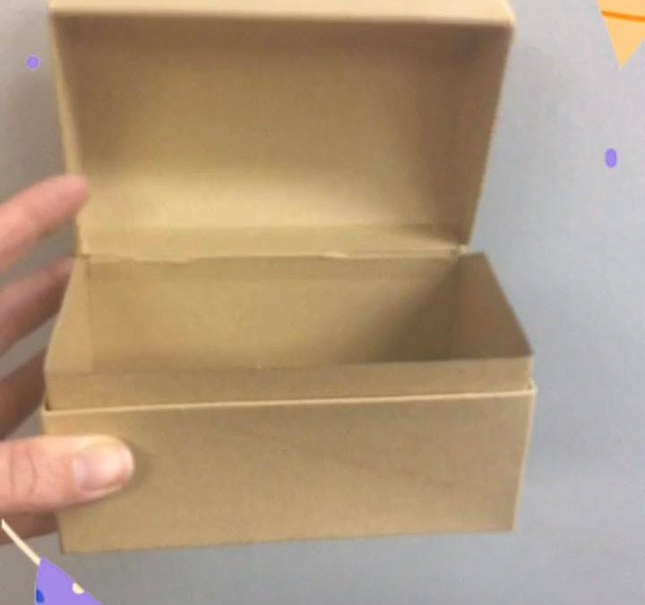 Treasure boxes – ready to be decorated and filled @HBC  Don't forget to registe…