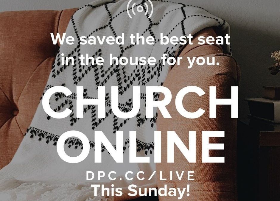 Join us for Online Church tomorrow (5th April) at 9am.  Go to dpc.cc/live to joi…