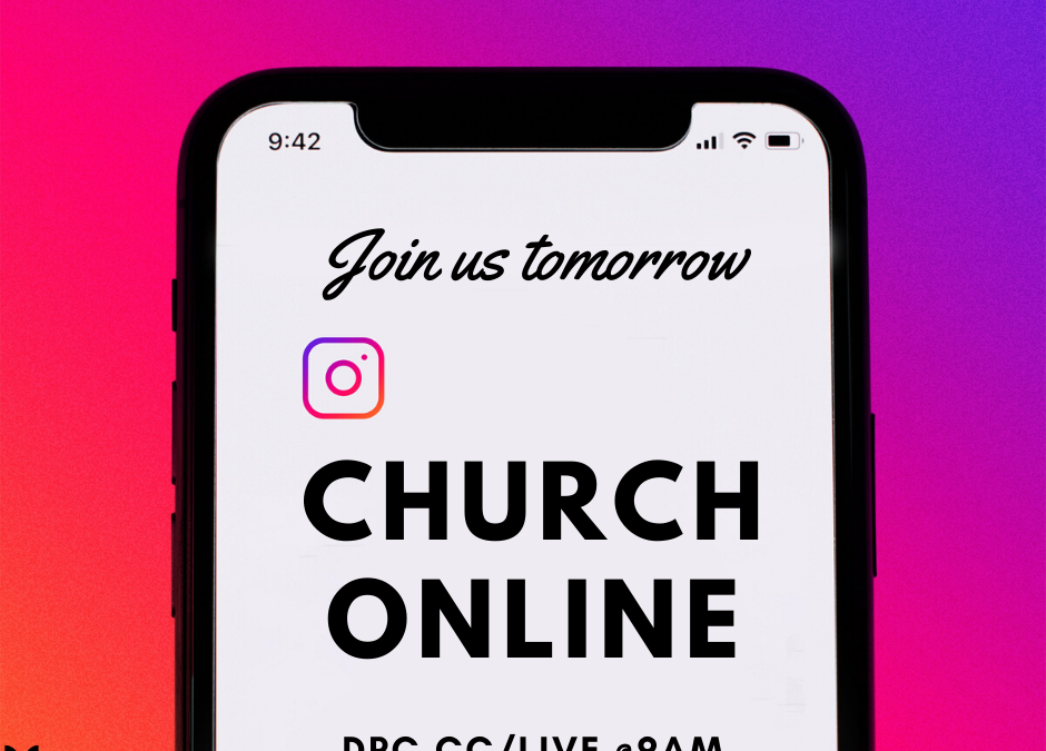 Join us as we Livestream Church this Sunday (5th July). Find our Livestream here…
