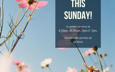 Join us this Sunday (27th September) as we join together in person & as we Lives…