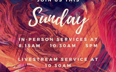 Join us this Sunday (4th October) as we join together in person & as we Livestre…