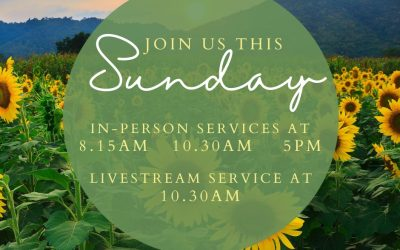 Join us this Sunday (11th October) as we join together in person & as we Livestr…