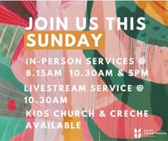 Join us this Sunday (22nd November) as we come together in person & as we Li…