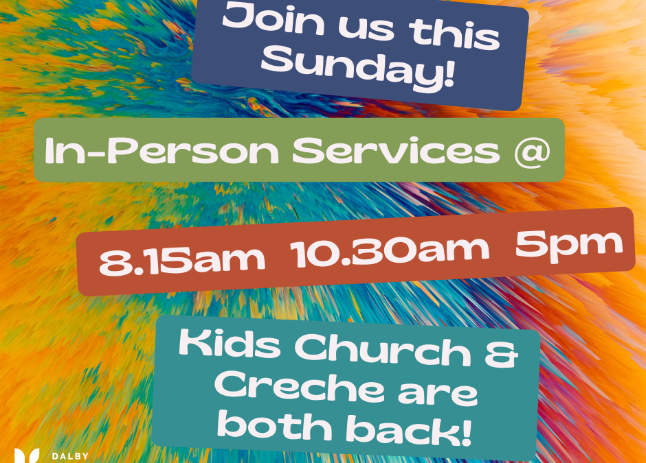 Join us this Sunday (24th January) for our church services. These are at 8.15am,…