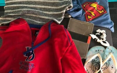 Lost & Found….  If any of these things belong to someone in your household…