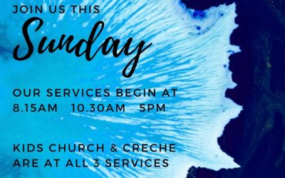 Join us this Sunday (28th March) for our church services beginning at 8.15am, 10…