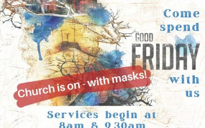 Updated following this morning's announcement!  Good Friday services are on…