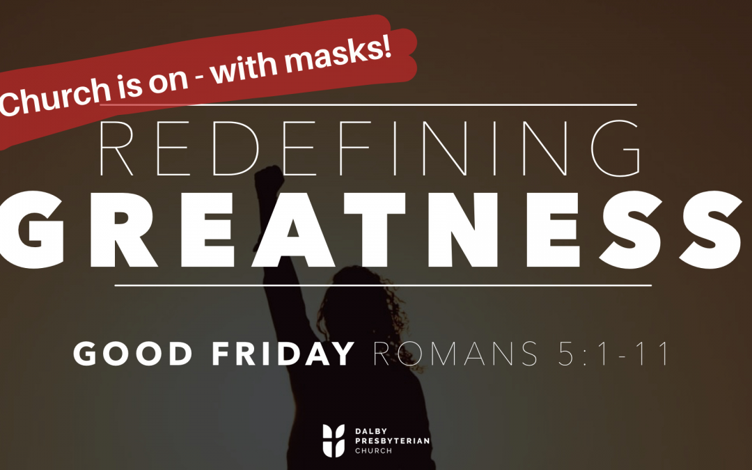 Our Good Friday services are on – with masks! Don't worry – we have some spare m…