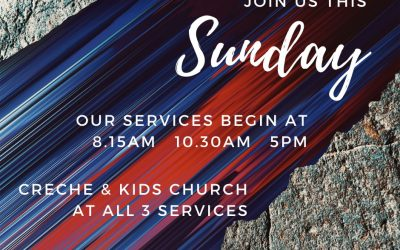 Join us this Sunday (6th June) for our church services beginning at 8.15am, 10.3…